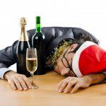 Festive hangover